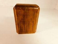 Antique Wooden Doll House Console Radio - Free Shipping