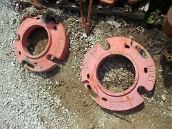 Allis Chalmers Wd Wd45 45 Ac Tractor Universal Fandh Rear Wheel Weights Weight