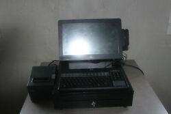 Hp Rp7 7800 Retail Pos System 15 Touchscreen W/ Full Pos System