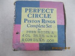 Engine Piston Rings Size .005 1928 - 1929 - 1930 - 1931 - 1932 Ford Model-a