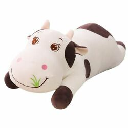 Cartoon Cows Plush Toy Large Cute Animal Stuffed Super Comfortable Soft Doll