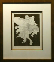 Guillaume Azoulay The Law Etude Original Penandink Mix Media Signed Make An Offer