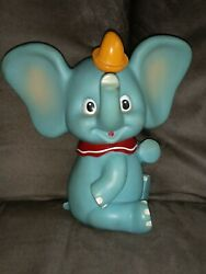 Vintage 70's Disney Productions Dumbo The Elephant Squeeky Squeeker Toy Japan