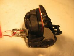 Harken 2613 Triple Ratchet Carbo Block With Becket And Cam 40mm Fixed Head