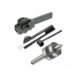 Knurling Tool 6 Inch 6 Knurl With Revolving Center Mt1 And Parting Tool Holder