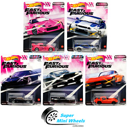 Hot Wheels 2020 Fast And Furious Quick Shifters J Case Set 5 Cars