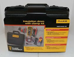 Fluke 1587 I400 Fc Current Clamp 1587fc 2in1 Insulation Dmm Multimeter W Connect