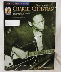 Best Of Charlie Christian Styles And Techniques Guitar Music Book W Cd