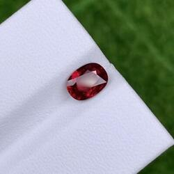 1.00_ct Eye Catching Unheated 100 Nr Oval Mozambique Pigeon's Blood Red Ruby