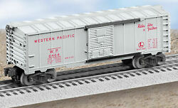 Lionel 6464-1 Red Lettered Western Pacific Boxcar 6-39300 Pwc Ln In Box