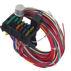 Universal Wire Wiring Harness Universal Fit For Chevy 12 Circuit Wires Car Auto