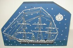 THE CATS MEOW Boston Christmas Series USS CONSTITUTION 1999