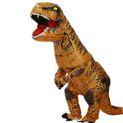 T REX Halloween Costume Inflatable Suit Dinosaur for Party Cosplay $44.99