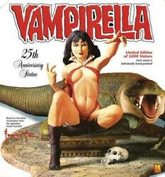 Vampirella Limited Out Of Print Statue / Inspection Rockinand039jelly Bean