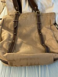 Ralph Lauren Tote Canvas N Leather $49.99