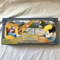 Disney Monorail Track Set- 4 Curved Beams- 4 Support Columns New In Box