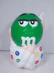 Mandm's Collectable I Melt For No One Green Character Cookie Jar 2001