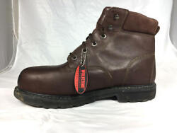 Nice Used Wolverine Cannonsburg W04451 Metguard Steel Toe Work Boots Menand039s 13