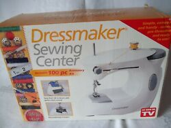 Euro-pro Dressmaker Sewing Center 998b Mechanical Sewing Machine-tested