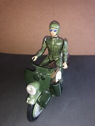 Loose Tin Wind Up 2002 Harley Davidson Military Motorcycle Franklin Mint