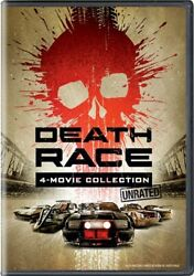 Death Race 4-movie Collection New Sealed Dvd 1 2 3 Inferno 4 Beyond Anarchy