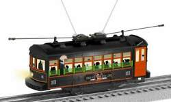 Lionel 2035010 End Of Line Trolley Operating Illuminated O-027 New Halloween