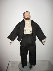 Abraham Lincoln 17 Doll Figure With Stand