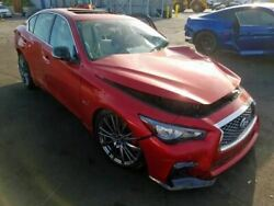 Red Passenger Right Front Door Assembly Fits 2019 Infiniti Q50 Oem