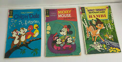 Set Of 8 Old 1970's Disney Richie Rich Jetsons Tom And Jerry Comic Books