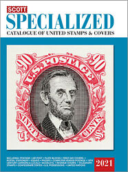 Scott Specialized Catalog 2021 United States Stamps And Covers - Us Reference Book