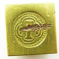 17th Century Hammered Gold Coin Weight Spanish Cob 8 Escudos
