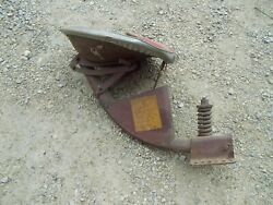 Farmall H M Tractor Incredible Orig Patina Paint Decal Ih Tool Box Seat Assembly