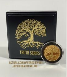 Tree Of Life 2020 Gold Proof Niue 250 Coin 99.99 1 Troy Oz 68/250 Sold Out