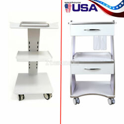 Hospital Three Layers Serving Medical Cart Dental Lab Trolley/auto-water Supply