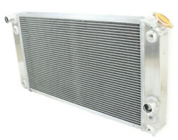 3 Row Aluminum 2.05 Core Radiator For Chevy S10 Ls Ss Zr2 Swap 1986-2005 90 00