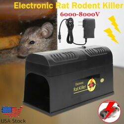 Electronic Mouse Trap Victor Control Rat Killer Pest Electric Zapper Rodent H360