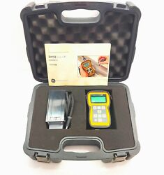 Ge Dm5e Series Sensing And Inspection Technologies Portable Thickness Gauge Meter