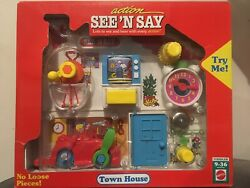 Action See And039n Say Town House - Mattel