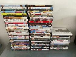 Lot Of 75 Dvd Movies Different Genres, Mix Of New And Used - Free Shipping