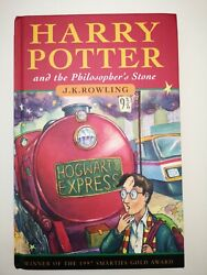 Harry Potter And The Philosopherand039s Stone 1st Edition 9th Printing Twice 1 Wand
