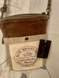 Myra Small Shoulder Canvas Bag New with tags Sharp $25.99