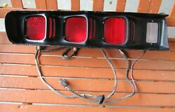 Nos 71 72 Dodge Charger R/t 500 Super Bee Lh Taillight Assembly Slight Damage