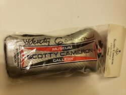 Super Rare Signed Scotty Cameron Museum Gallery Wood Japan Headcover