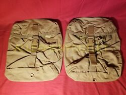 New Lot Of 2 Us Military Usmc Filbe Sustainment Pouch Eagle Molle Coyote Nib