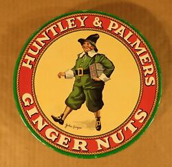 Vintage Huntley And Palmer Tin With John Ginger / Made In England