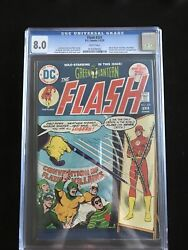 Cgc 8.0 The Flash 231 Must Have Bronze Age Masterpiece Cardy Cover