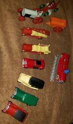 Accu-cast 10 Pc. Vintage Toys Of The 20's And 30's Lead Reproductions Usa Nos