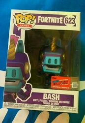 Nycc 2020 Funko Pop Exc. Bash Of Fortnite Official Sticker Limited Edition