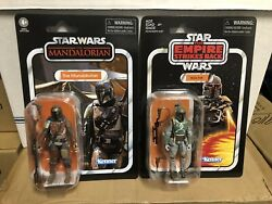 Star Wars Vintage Collection VC166 The Mandalorian amp; VC09 Boba Fett $39.95