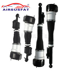 4x Front Rear Air Suspension Shock Struts For Mercedes W221 4matic S-class
